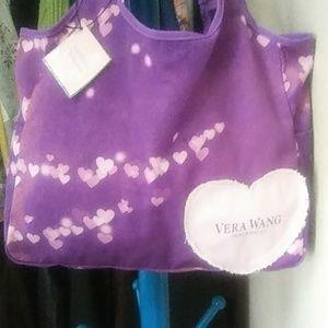 Vera Wang Princess Heart Tote Bag